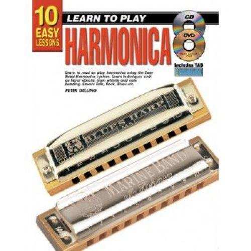 TUTOR BOOK HOW TO PLAY HARMONICA HARMONICA for sale » River